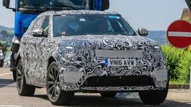 Range Rover Sport Coupe - spy shots front cornering