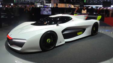 Pininfarina H2 Speed concept - Geneva show front/side
