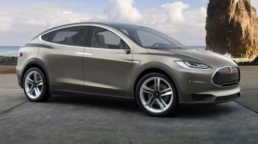 Tesla Model X front side