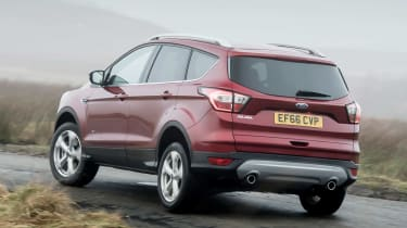 Ford Kuga 2017 - rear cornering