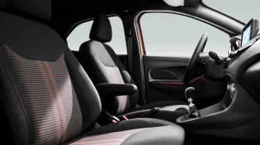 Ford Ka+ Active - front seats
