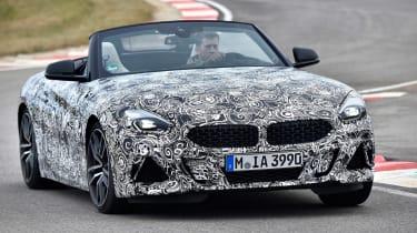 BMW Z4 prototype - front cornering