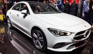Mercedes CLA - CES 2019 front
