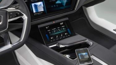 Audi Virtual Dashboard - centre console