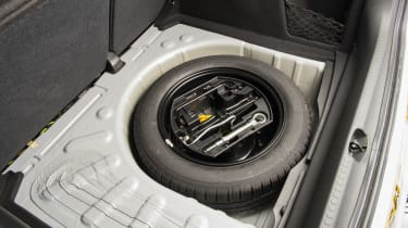 Used Citroen C4 - spare wheel