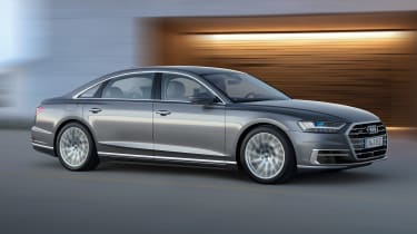 New Audi A8 unveiled - side