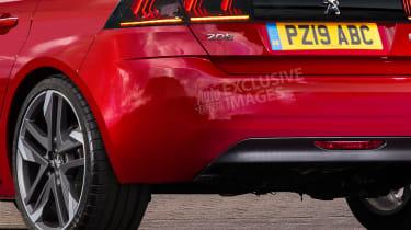 Peugeot 208 GTi - rear detail (watermarked)
