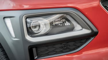 Hyundai Kona review - front light