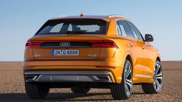 New Audi Q8 - rear
