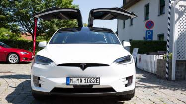 Tesla Model X - full front