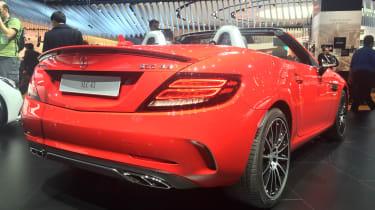 Mercedes SLC - rear show