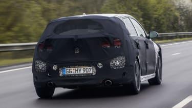Hyundai i30 N prototype - rear