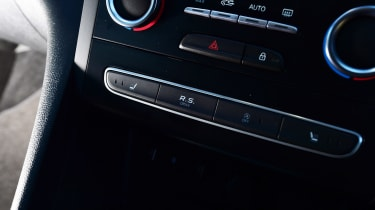 Renault Megane RS - button