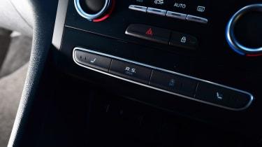Renault Megane RS - button