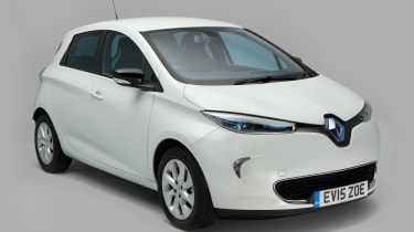 Used Renault ZOE - front