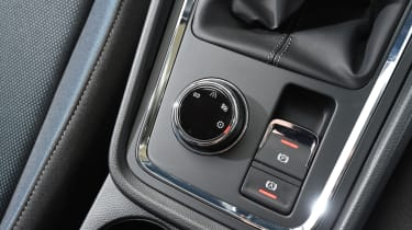 SEAT Ateca First Edition - centre console