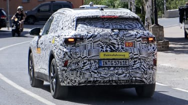 Volkswagen ID.4 SUV - spied - rear tracking