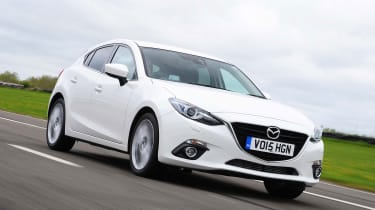 Mazda 3 - front tracking