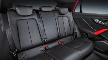Audi Q2 Red rear seats