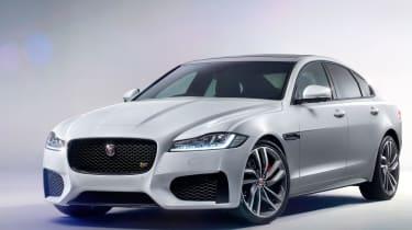 Jaguar XF S - front static