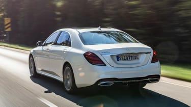 Mercedes S 560 e - rear