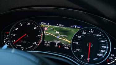 Audi RS7 Performance - dials