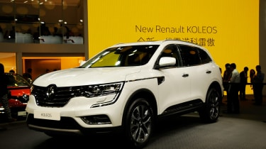 Renault has taken the wraps off the top tier of its SUV family - the Koleos.