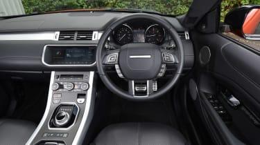 Range Rover Evoque Convertible - dash