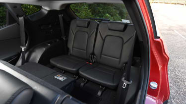 Hyundai Santa Fe - back seats