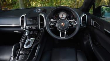 Porsche Cayenne Diesel - dash