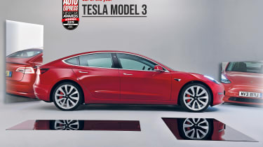 Tesla Model 3 - 2019 Car of the Year