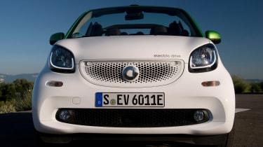 Smart ForTwo Electric Drive Cabrio - full front