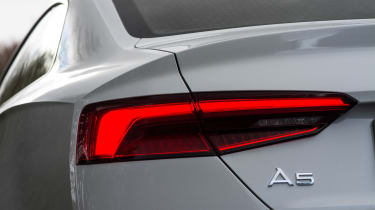 Audi A5 Coupe 2.0 TDI - rear light detail