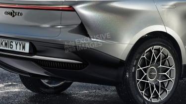 Lagonda SUV - rear detail (watermarked)
