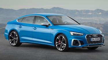 2019 Audi S5 Sportback- front 3/4 static