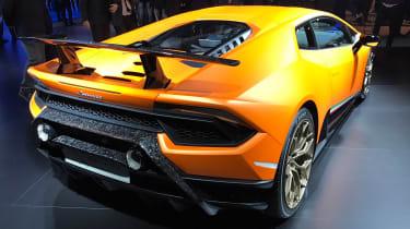 Lamborghini Huracan Performante show - rear
