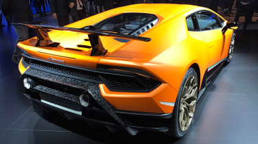 Lamborghini Huracan Performante show - rear