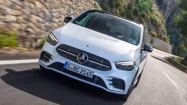 Mercedes B-Class - full front