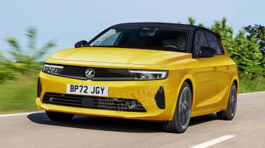 Vauxhall Astra render