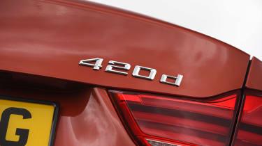 BMW 4 Series - 420d badge