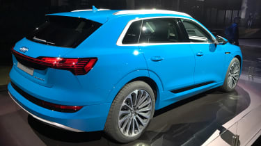 Audi e-tron - reveal rear