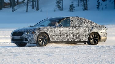 New BMW 7 Series front