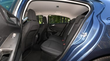 Ford Focus diesel Titanium - back seats