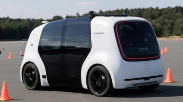 Volkswagen Sedric - rear