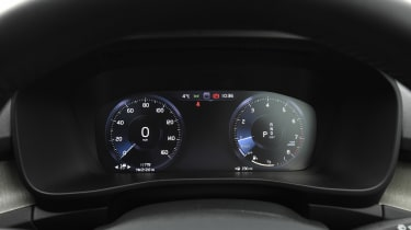 Volvo XC40 T4 - dials