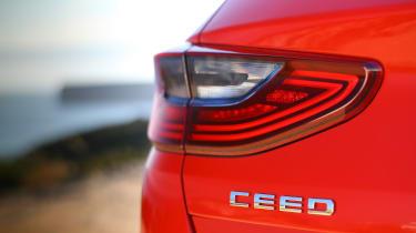Kia Ceed - Ceed badge