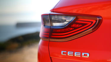 Kia Ceed - Ceed badge