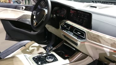 BMW X7 - LA Motor Show - interior