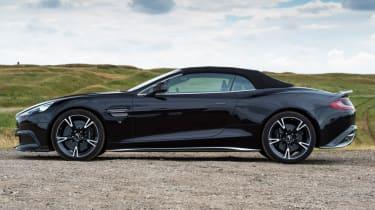 Aston Martin Vanquish S Volante - roof up