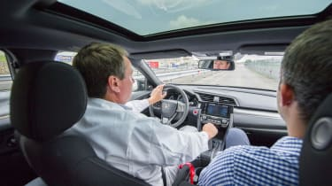 New Honda Civic ride review
